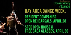 Bay Area Dance Week events at SFCD